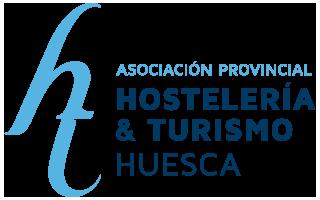 logotipo de la asociacion provincial de hosteleria y turismo de huesca