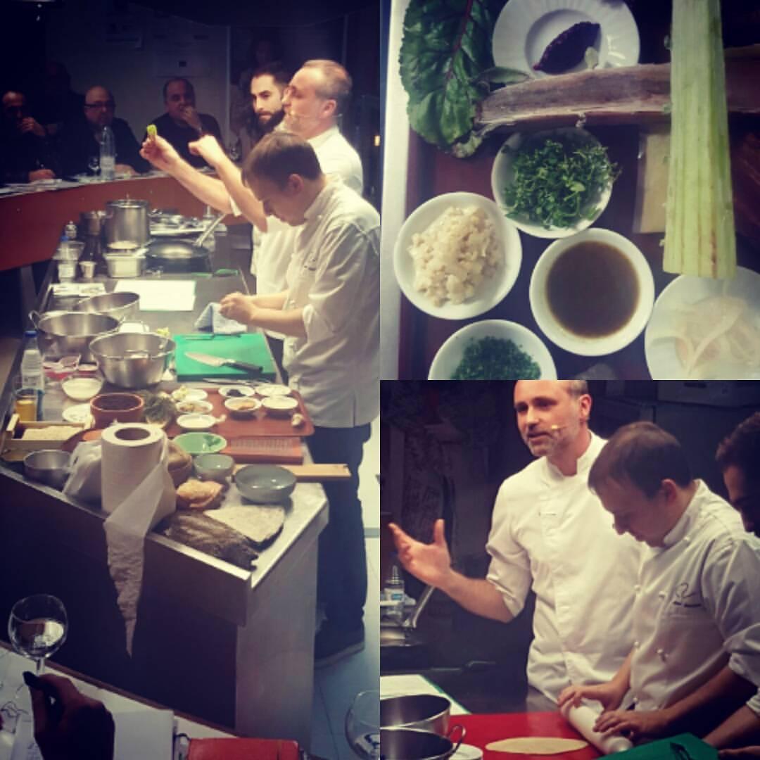 La revolución verde del chef Rodrigo de la Calle abre la 15ª edición de los Talleres Huesca la magia de la Gastronomía.