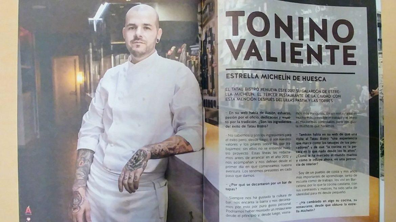 Presentamos la nueva revista editada por la Asociación de Hostelería y Turismo de Huesca