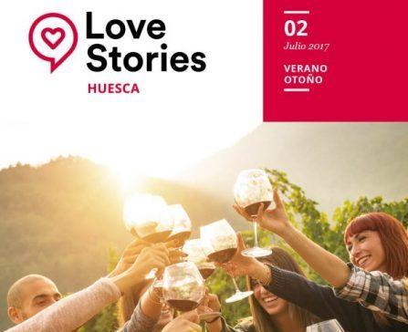 Love Stories Huesca, la nueva revista de la Asociación de empresarios de Hostelería y Turismo