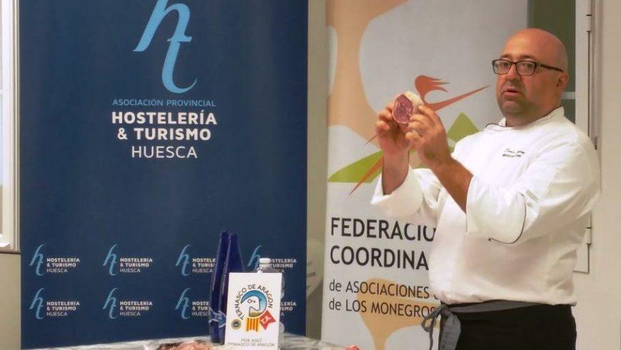 El Chef Darío Bueno imparte un taller de cocina de proximidad en Robres
