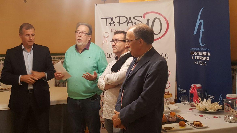 El Somontano acoge hasta el domingo el Concurso Tapas de 10
