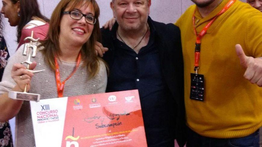 Ramón Lapuyade, del Hostal El Portal, Subcampeón de España en el Concurso Nacional de Valladolid