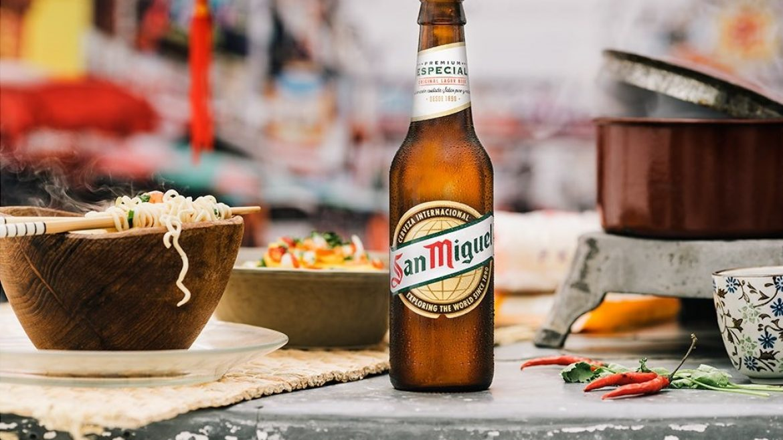 Taller de maridaje de cervezas Mahou-San Miguel para participantes en Tapas de 10