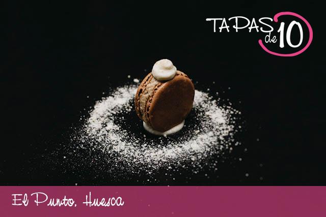 Chocolat, del Café Bar El Punto de Huesca, la Mejor Tapa de la Hoya